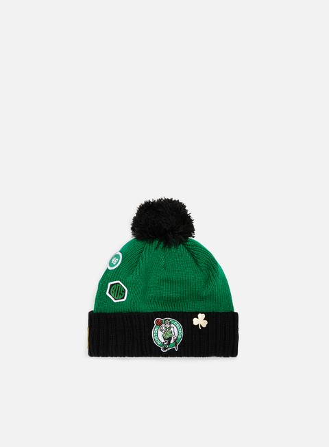 Cuffie New Era NBA Draft Knit Beanie Boston Celtics