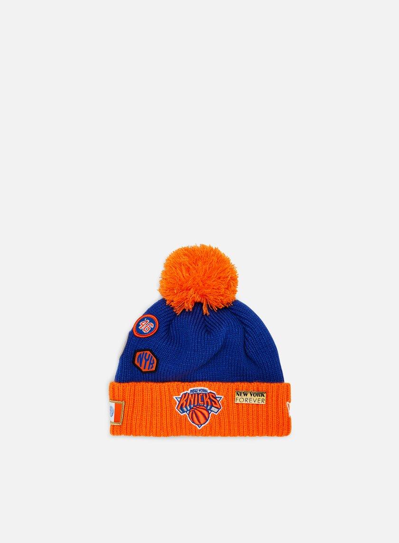 New Era NBA Draft Knit Beanie New York Knicks