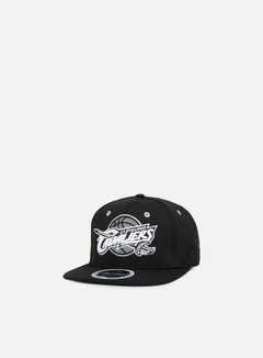 New Era - NBA Reflective Pack Snapback Cleveland Cavaliers, Black 1