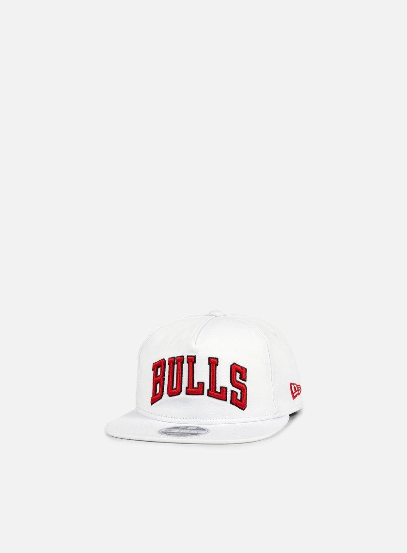 New Era - NBA Retro Aframe Snapback Chicago Bulls, White