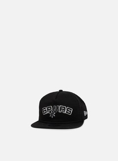 New Era - NBA Retro Aframe Snapback San Antonio Spurs, Black 1