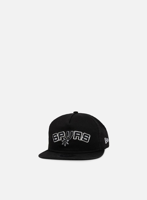 cappellini new era nba retro aframe snapback san antonio spurs black