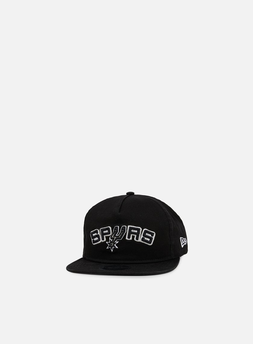 New Era - NBA Retro Aframe Snapback San Antonio Spurs, Black