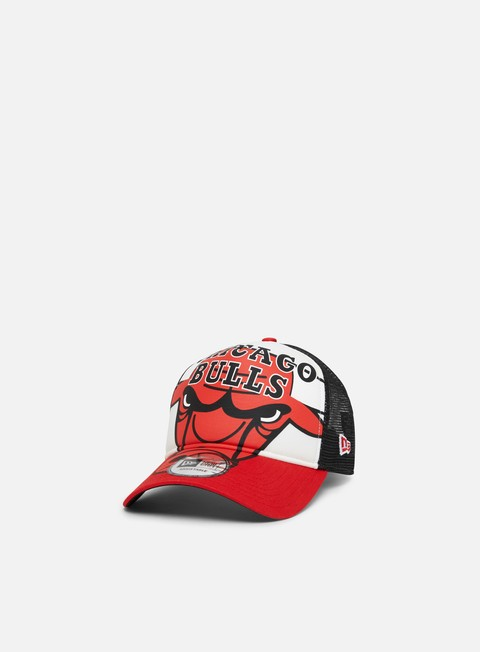 Outlet e Saldi Cappellini Trucker New Era NBA Retro Pack 9Forty AF Trucker Chicago Bulls