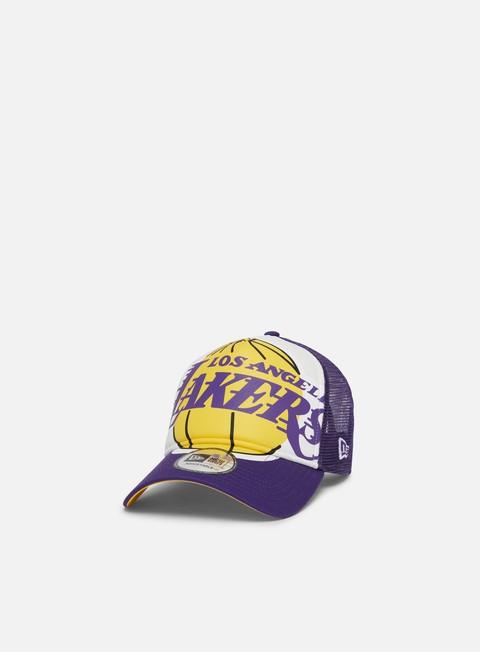 Trucker Caps New Era NBA Retro Pack 9Forty AF Trucker LA Lakers