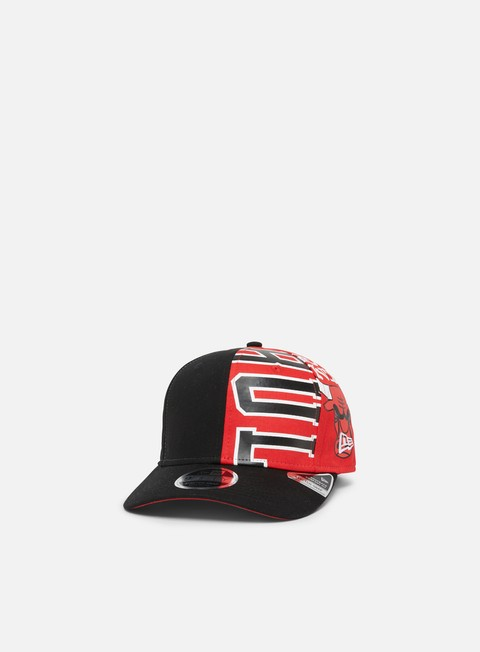 Outlet e Saldi Cappellini Visiera Curva New Era NBA Retro Pack Pre Curved 9Fifty Snapback Chicago Bulls