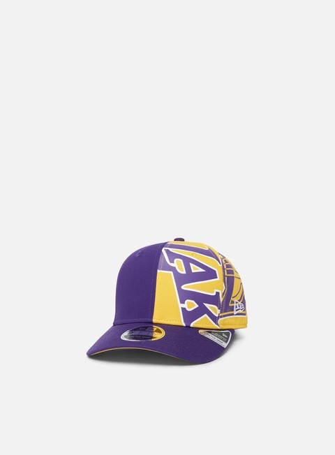 New Era NBA Retro Pack Pre Curved 9Fifty Snapback LA Lakers