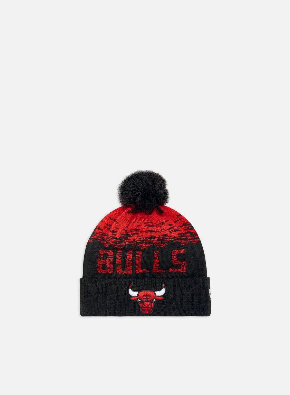 New Era NBA Sport Knit Beanie Chicago Bulls