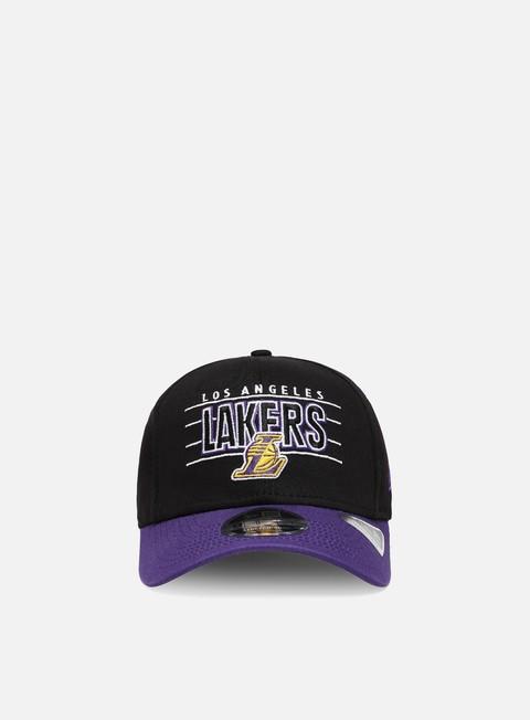 Curved Brim Caps New Era NBA Team 9Fifty Snapback LA Lakers
