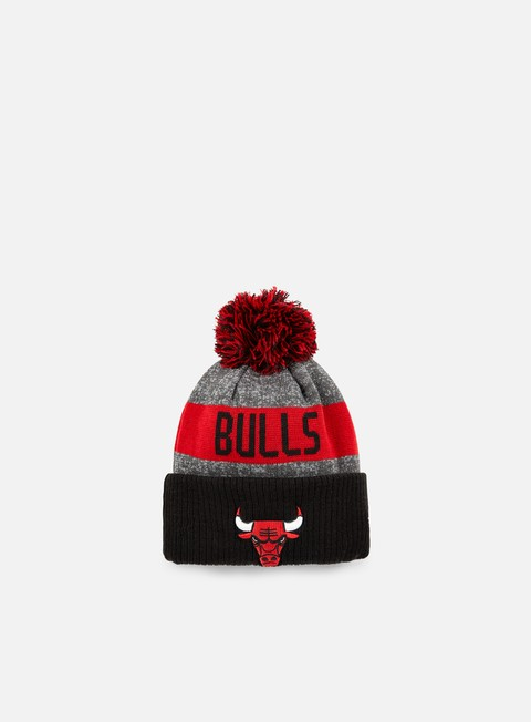 cappellini new era nba team knit beanie chicago bulls team colors