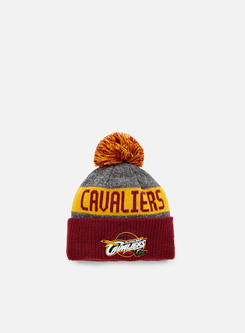 cappellini new era nba team knit beanie cleveland cavaliers team colors