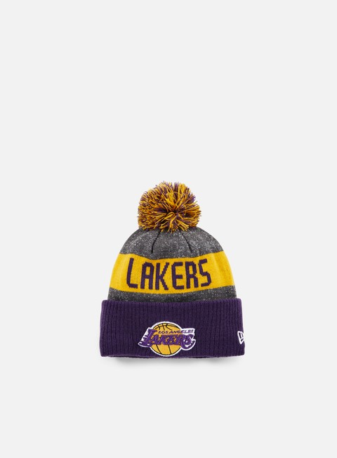 cappellini new era nba team knit beanie la lakers team colors