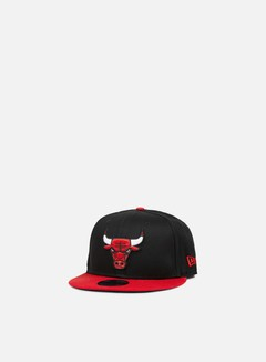 New Era - NBA Team Snapback Chicago Bulls, Team Colors 1