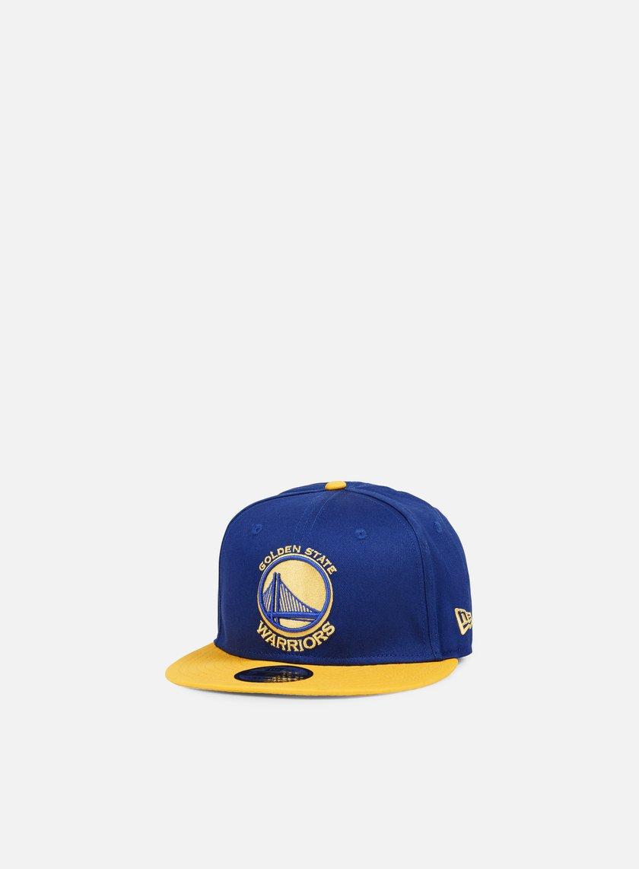 New Era - NBA Team Snapback Golden State Warriors, Team Colors