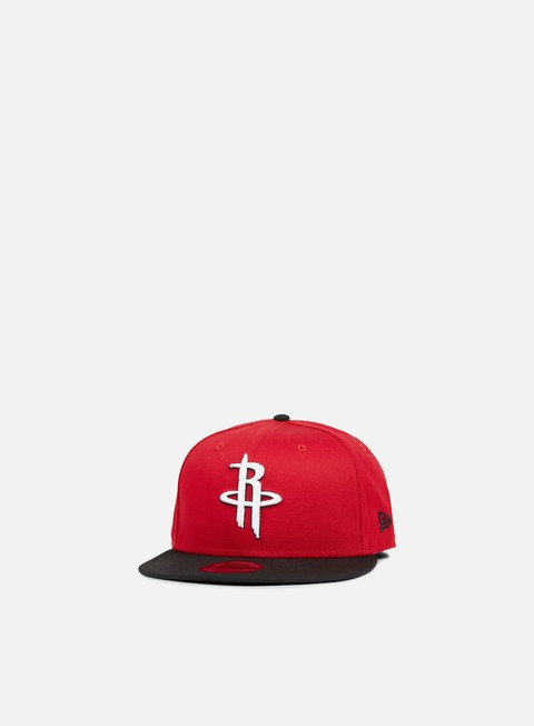 Outlet e Saldi Cappellini Snapback New Era NBA Team Snapback Houston Rockets