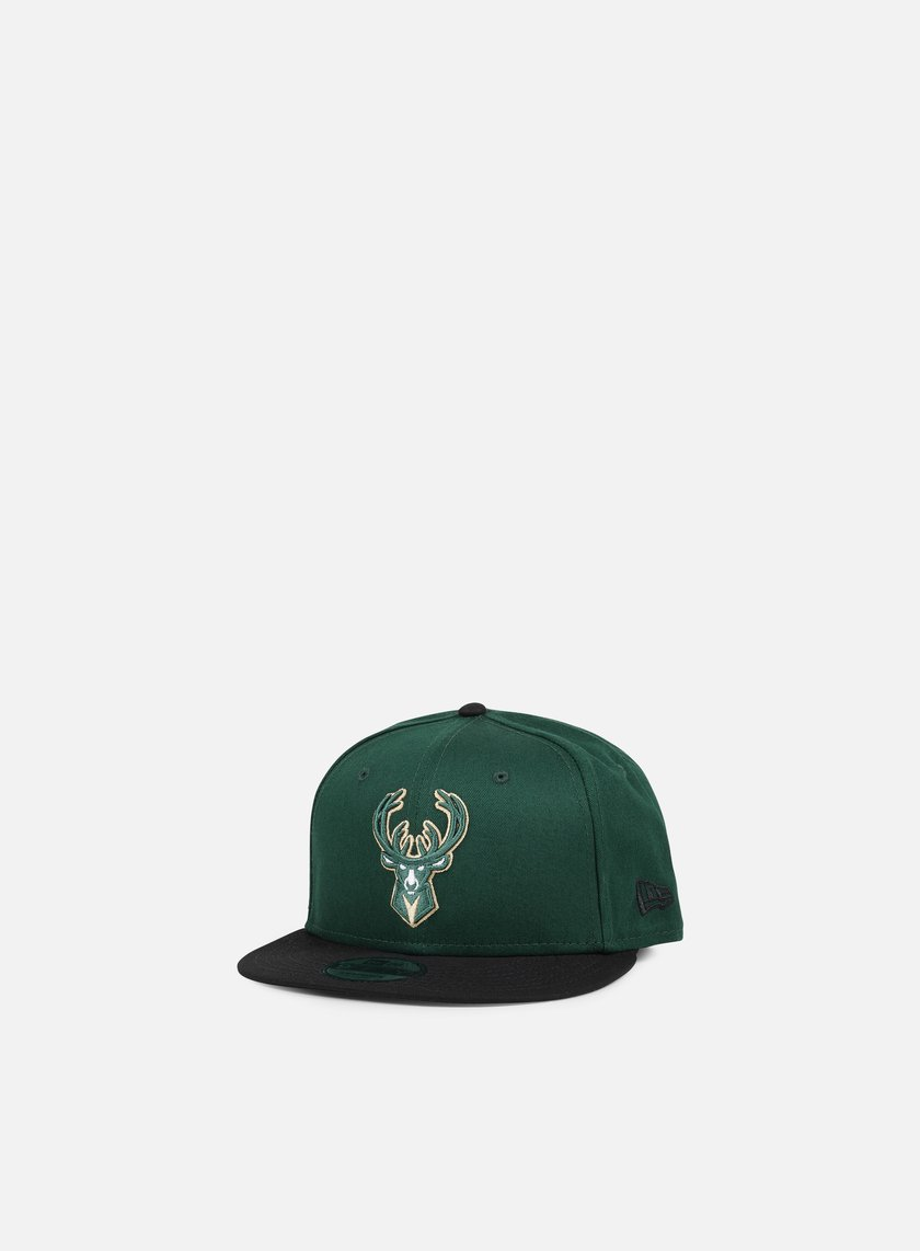 New Era - NBA Team Snapback Milwaukee Bucks, Team Colors