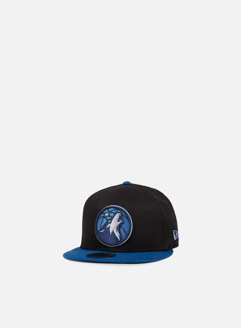 Outlet e Saldi Cappellini Snapback New Era NBA Team Snapback Minnesota Timberwolves