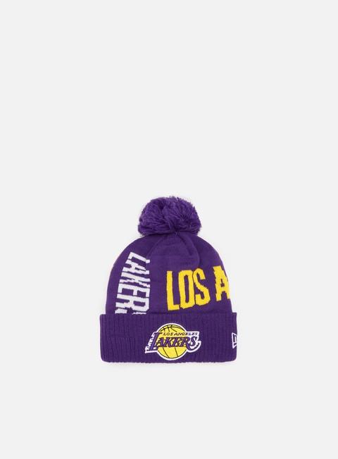 New Era NBA19 Tipoff Series Knit Beanie LA Lakers