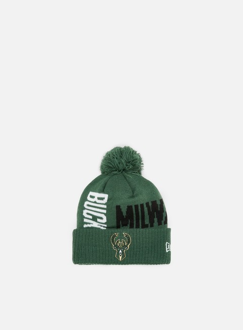 Cuffie New Era NBA19 Tipoff Series Knit Beanie Milwakee Bucks