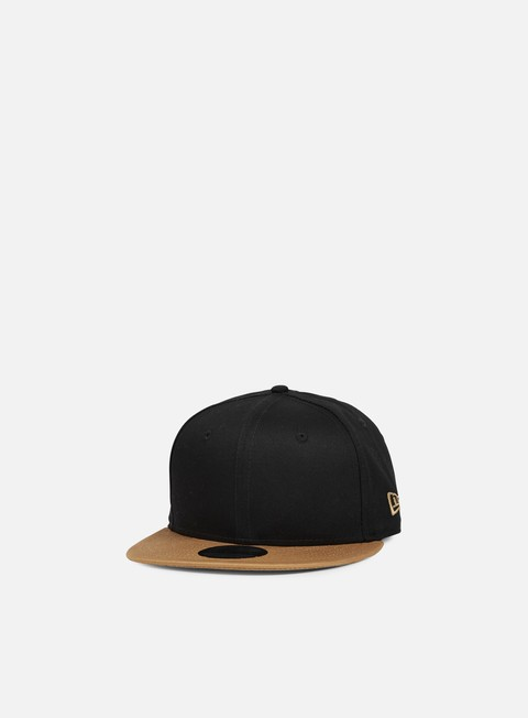 cappellini new era ne contrast classic snapback black wheat