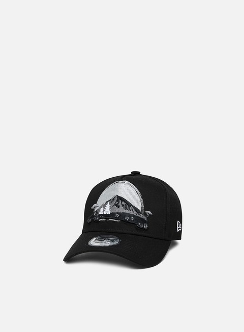 Curved Brim Caps New Era NE Far East Trucker Snapback