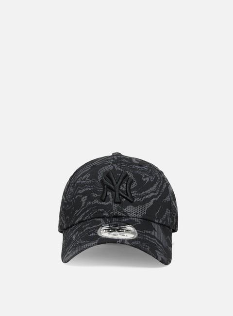 Curved Brim Caps New Era NE Seasonal Camo 9Forty Cap NY Yankees
