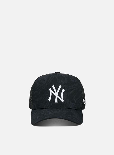 Cappellini con visiera New Era NE Seasonal Camo Trucker NY Yankees