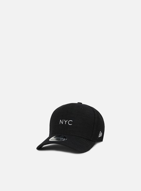 Curved Brim Caps New Era NE Slub 9Fifty Stretch Snapback