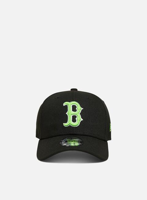 Cappellini con visiera New Era Neon Pack 9Forty Strapback Boston Red Sox