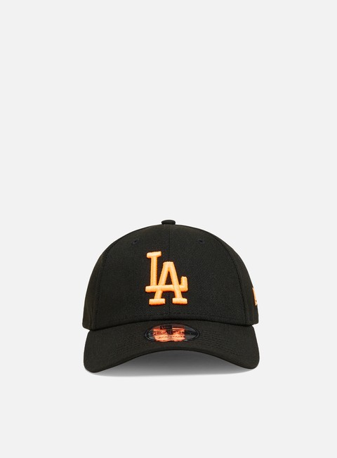 Cappellini con visiera New Era Neon Pack 9Forty Strapback LA Dodgers
