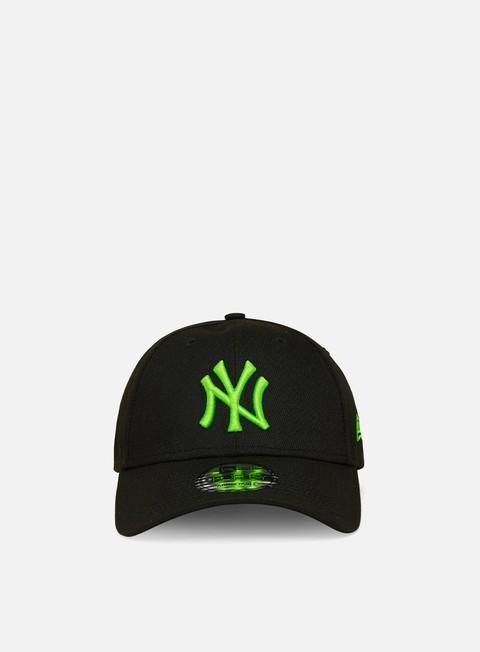Outlet e Saldi Cappellini con visiera New Era Neon Pack 9Forty Strapback NY Yankees