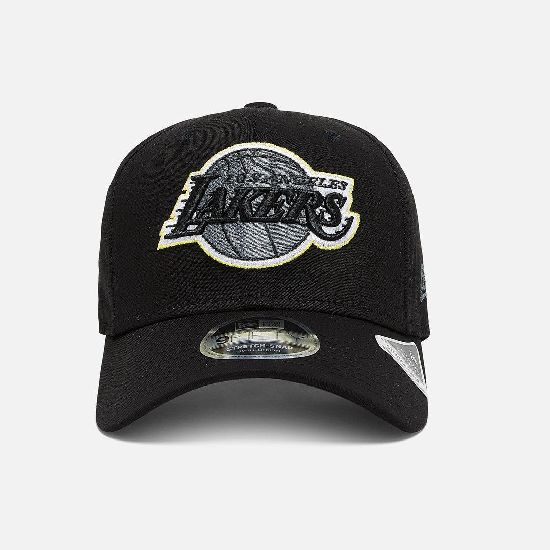New Era 9FIFTY Stretch Snap Cap Neon Pop Los Angeles Lakers black