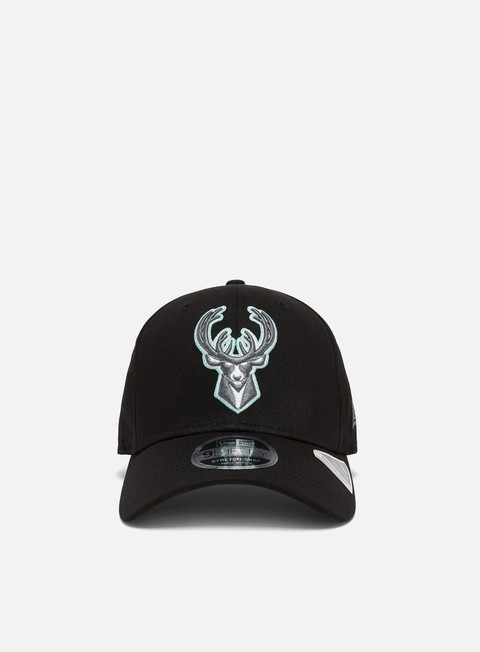 New Era Neon Pop 9Fifty Stretch Snapback Milwaukee Bucks