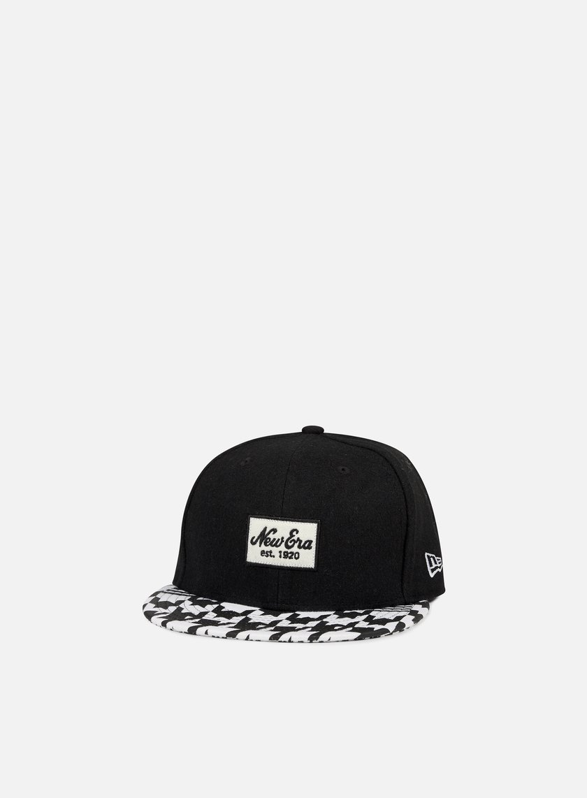 New Era - New Era Houndstooth, Black/White