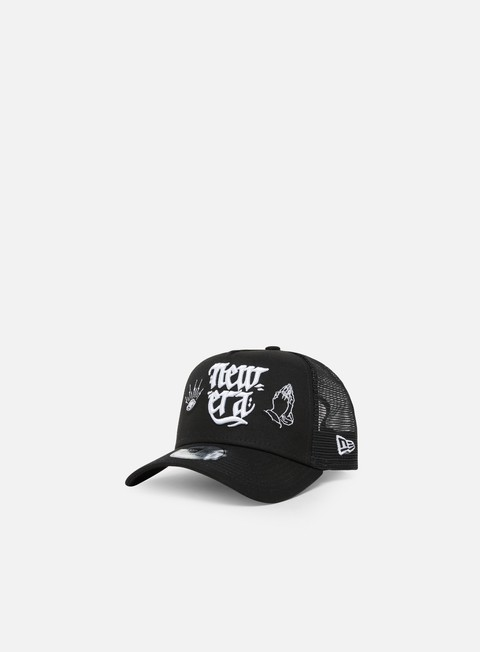 Trucker Caps New Era New Era Script Trucker
