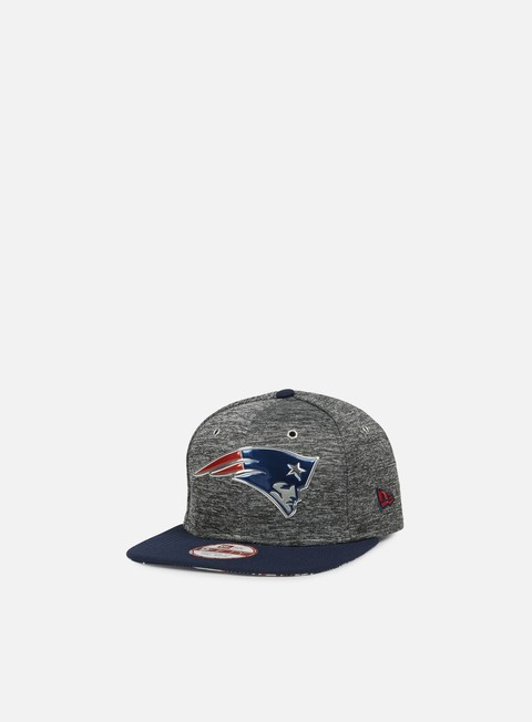 cappellini new era nfl draft snapback new england patriots team colors grey