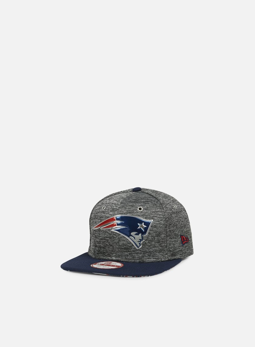 New Era - NFL Draft Snapback New England Patriots, Team Colors/Grey