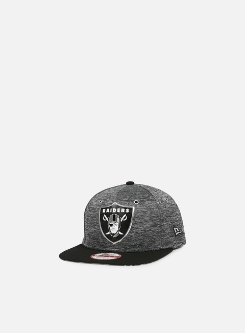 cappellini new era nfl draft snapback oakland raiders team colors grey