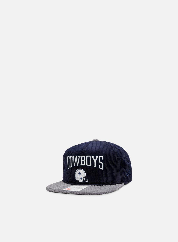 New Era - NFL Heritage Cord Snapback Dallas Cowboys, Team Colors
