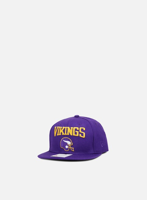 cappellini new era nfl heritage wool snapback minnesota vikings team colors