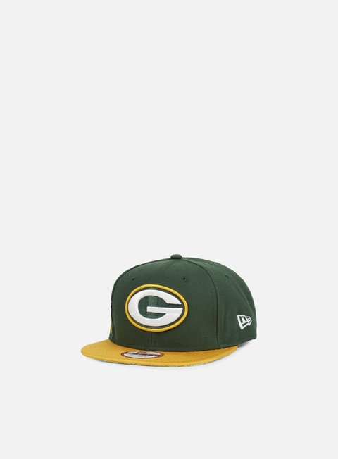 Outlet e Saldi Cappellini Snapback New Era NFL Sideline Snapback Green Bay Packers