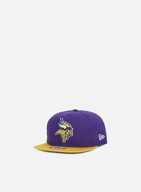 cappellini new era nfl sideline snapback minnesota vikings team colors