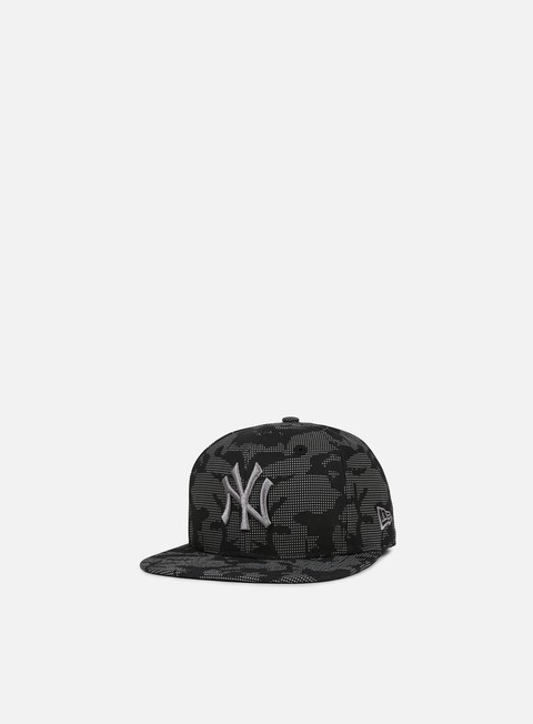 Outlet e Saldi Cappellini Snapback New Era Night Time Reflective 9Fifty Snapback NY Yankees