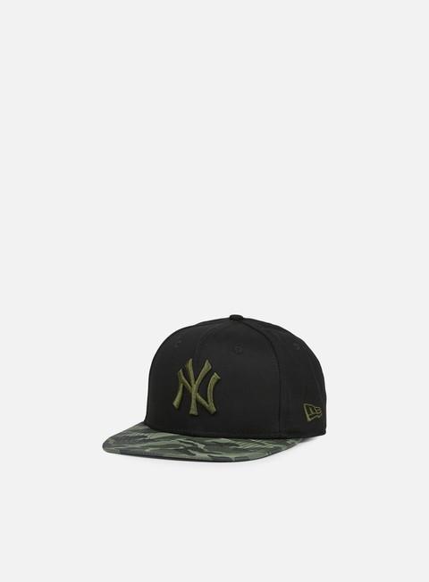 New Era Nylon Camo Vize Snapback NY Yankees