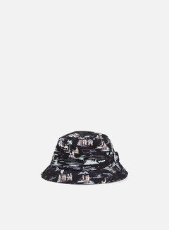 New Era - Offshore AOP Bucket Hat, Black 1