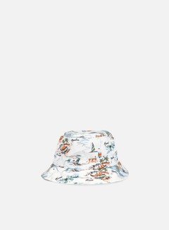 New Era - Offshore AOP Bucket Hat, White
