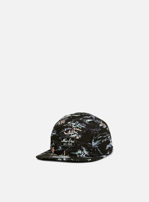 Cappellini 5 Panel New Era Offshore AOP Camper Hat