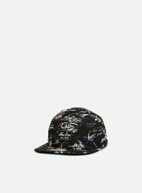 5 Panel Caps New Era Offshore AOP Camper Hat