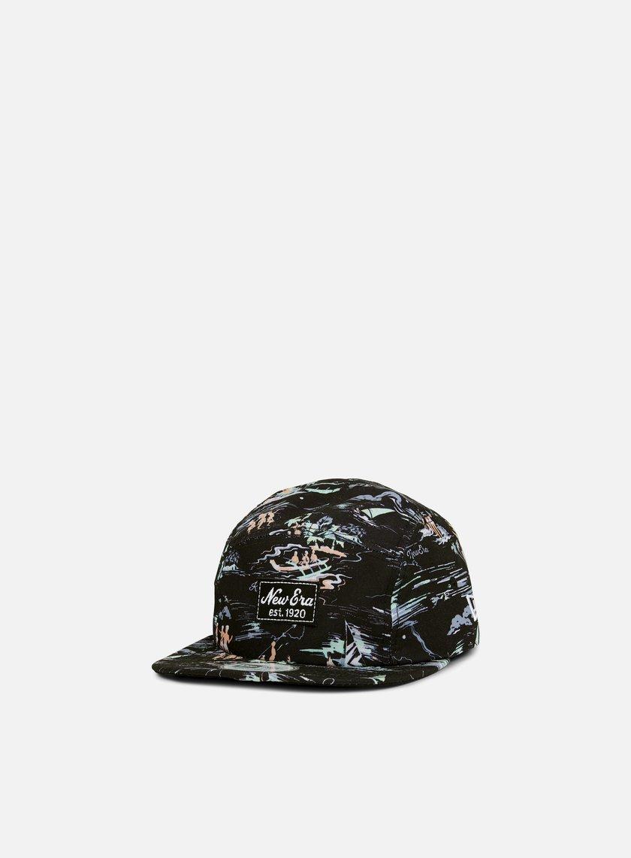 New Era - Offshore AOP Camper Hat, Black