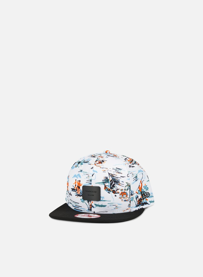 New Era - Offshore Crown Patch Snapback, White/Black